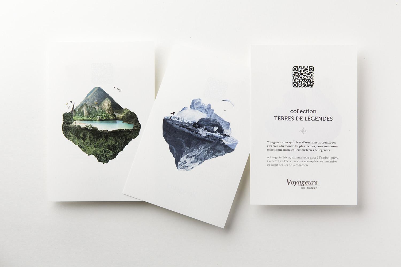 Les cartes postales